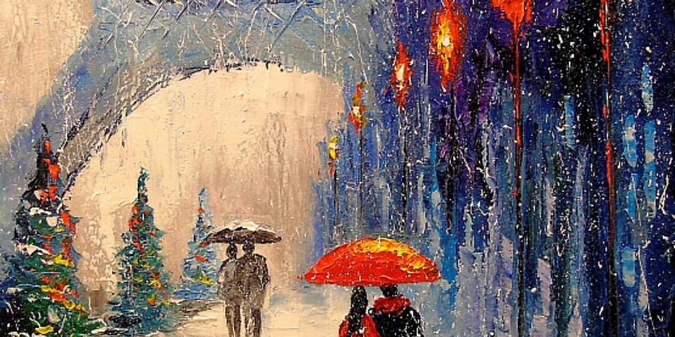 Зимний Париж. Цена 2000 руб.