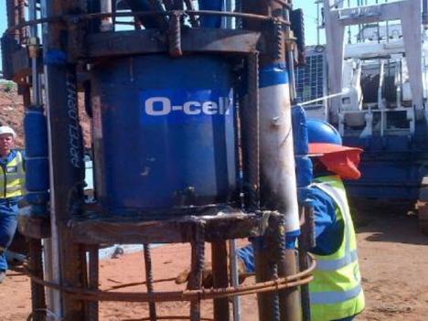 O-Cell Test MT Edgecombe Interchange