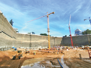 Digging deeper – a review of South African practice on deep excavation design in urban areas