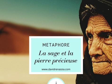 La sage et la pierre précieuse (métaphore)