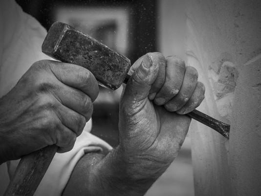 Le tailleur de pierre (métaphore)