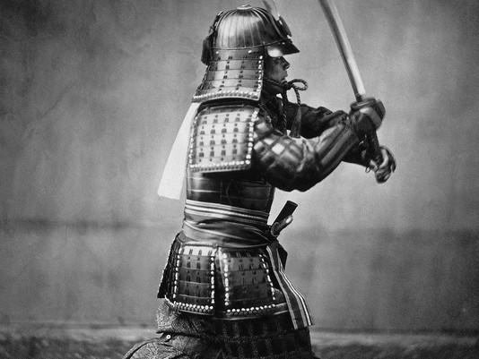 Le samouraï et le maître zen - conte japonais (métaphore)