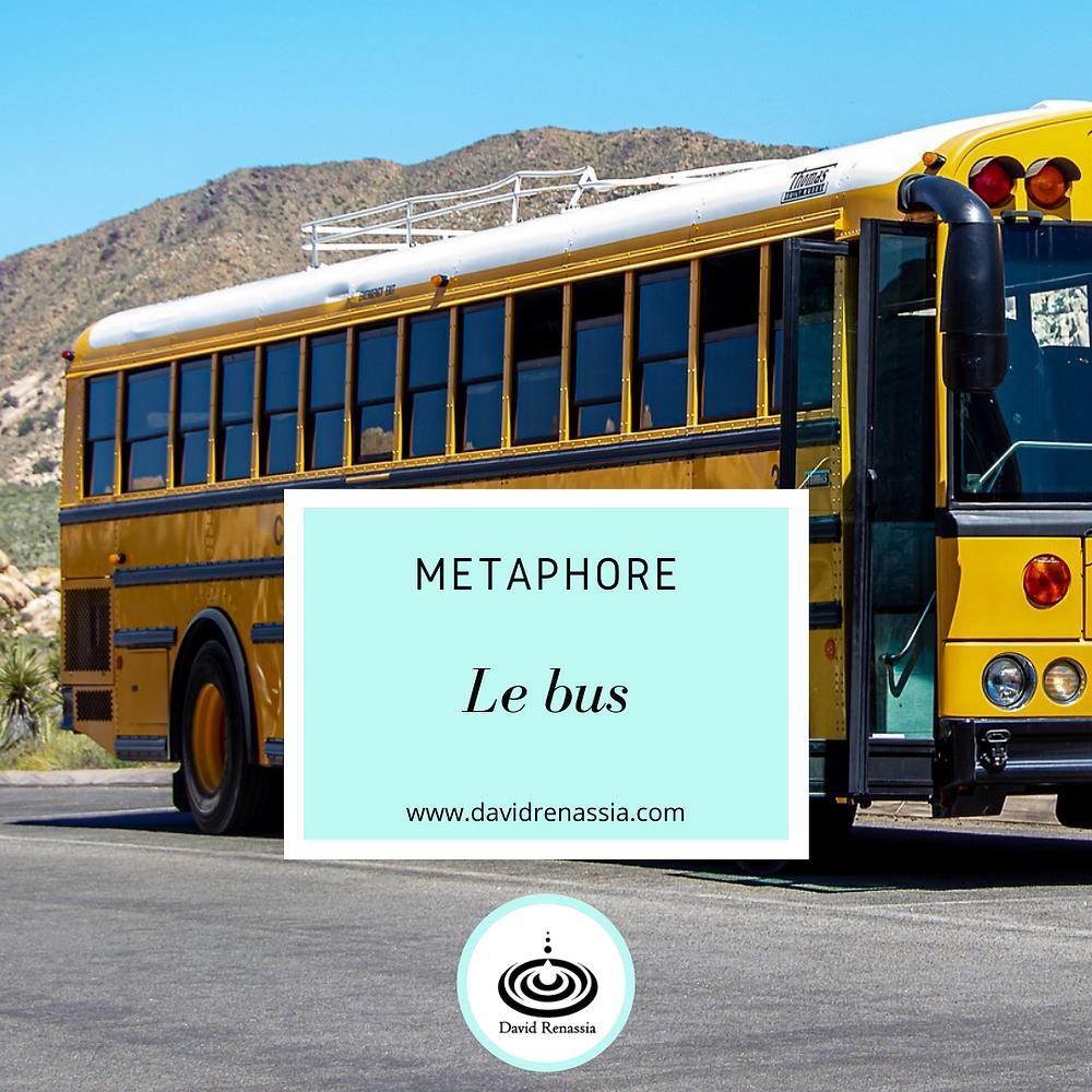 Métaphore Le bus, hypnose à distance en ligne