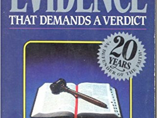 Evidence that Demands a Verdict ... Or Not