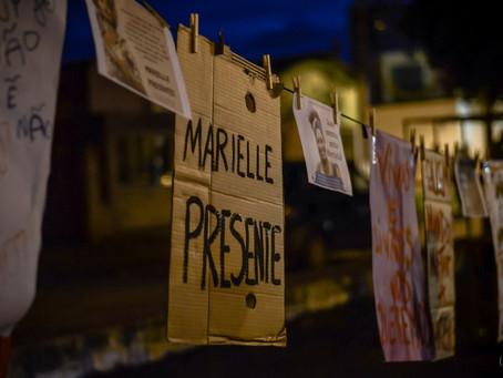 Ato em Memória de Marielle Franco