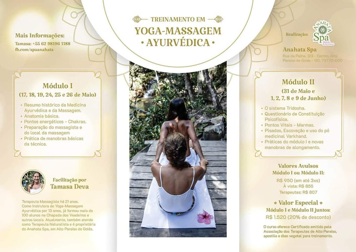 Yoga Massagem Ayurveda Anahata SPA