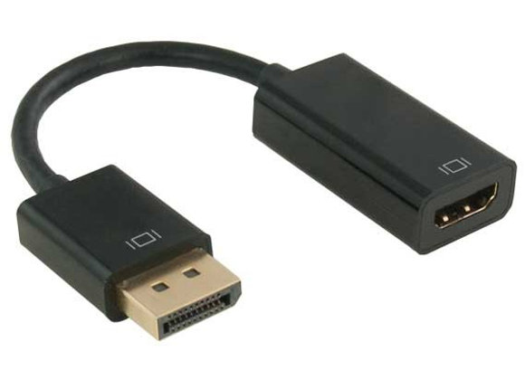 כבל DisplayPort to HDMI Female Adaptor