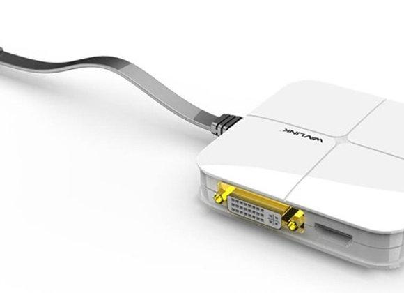 מתאם גראפי USB 3.0 to HDMI&DVI Dual Head