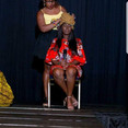 On Stage Headwrap Demonstration