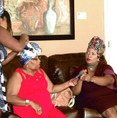 Private party, headwrap class