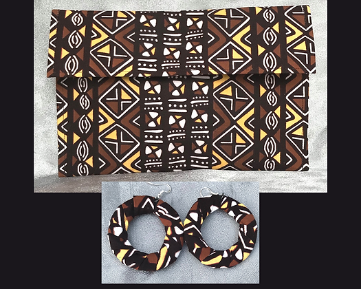 Kalahari Clutch and Hoop Set