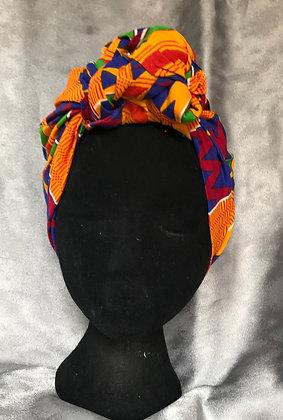 Spice Pre-tied Headwrap