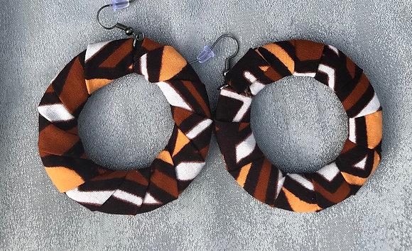 Sahara Medium Circle Earrings