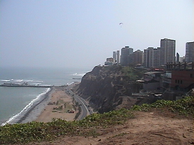 Le Pérou c'est une longue côte