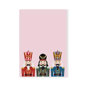 postkaart - de notenkrakers - kerstkaart