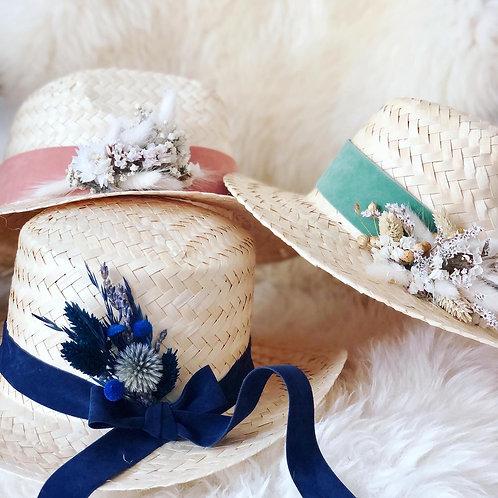 Les Chapeaux de paille personnalisables