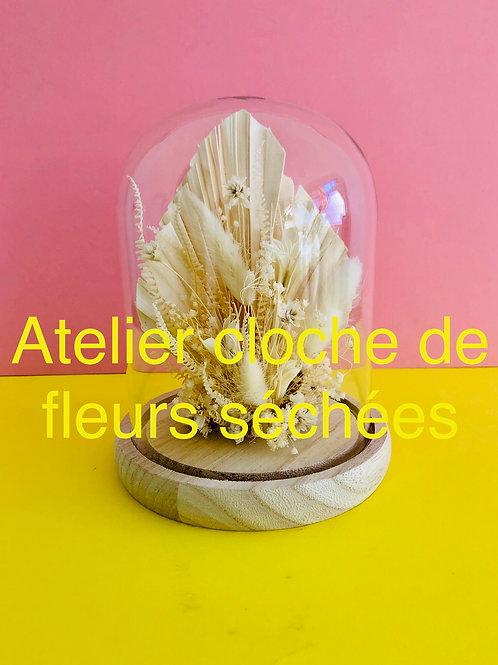 """L'atelier créatif  """" Cloche de fleurs """""""