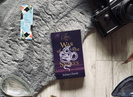 The War of the Snakes - Julian Cheek (Blog Tour)