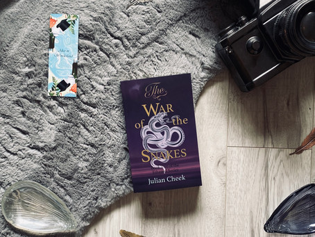 The War of the Snakes - Julian Cheek (Blog Tour)