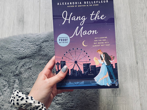 Book Review: Hang The Moon by Alexandria Bellefleur (ARC)