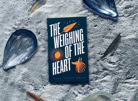 The Weighing of the Heart - Paul Tudor Owen (Blog Tour)