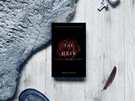 Book Review: The Heir by Benet Stoen (ARC)