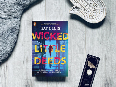 Book Review: Wicked Little Deeds by Kat Ellis (ARC)