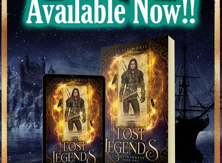 Book Blitz: The Lost Legends - Cait Marie