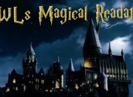 OWL's Magical Readathon TBR