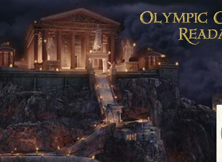Olympic Games Readathon TBR!