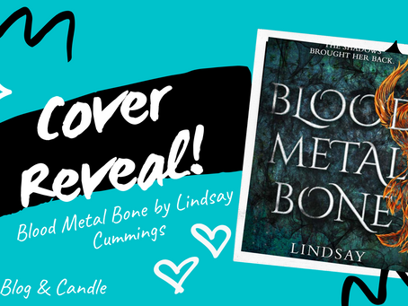 Cover Reveal: Blood Metal Bone by Lindsay Cummings