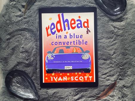 Redhead in a Blue Convertible - Ivan Scott