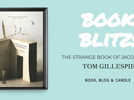 Book Blitz: The Strange Book of Jacob Boyce - Tom Gillespie
