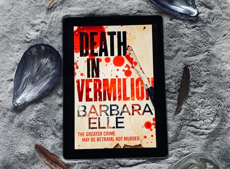 Death in Vermilion - Barbara Elle (Book Blog Tour)