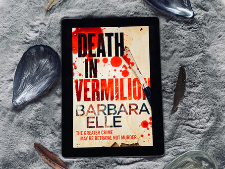 Death in Vermilion - Barbara Elle (Book Blog Tour)