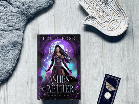 Book Review: Ashes of Aether by Holly Rose (ARC)
