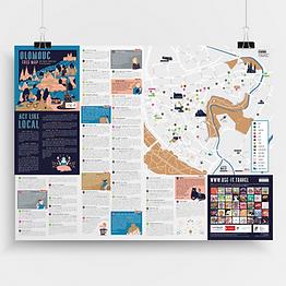 illustration map design useit