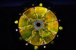 Mosaic, 'light box' table