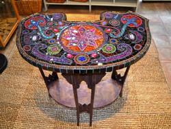 Art Nouveau antique, Mosaic table, mosaic art