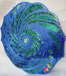 Sea-swirl table