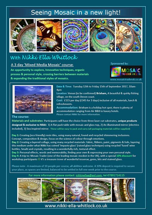 Lets experiment!! _D Finally sorted my workshops, sponsored by Mosaic Trader