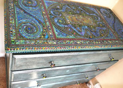 Upcycled Mosaic Chest of draws