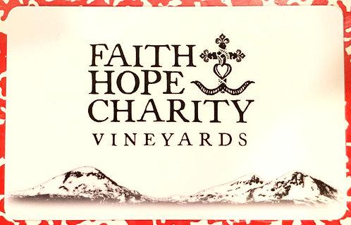 Faith Hope & Charity Gift Card