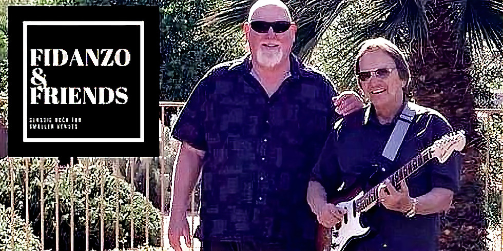 Live at the Vineyard: Joe Fidanzo ....   Advance Ticket Purchase Required