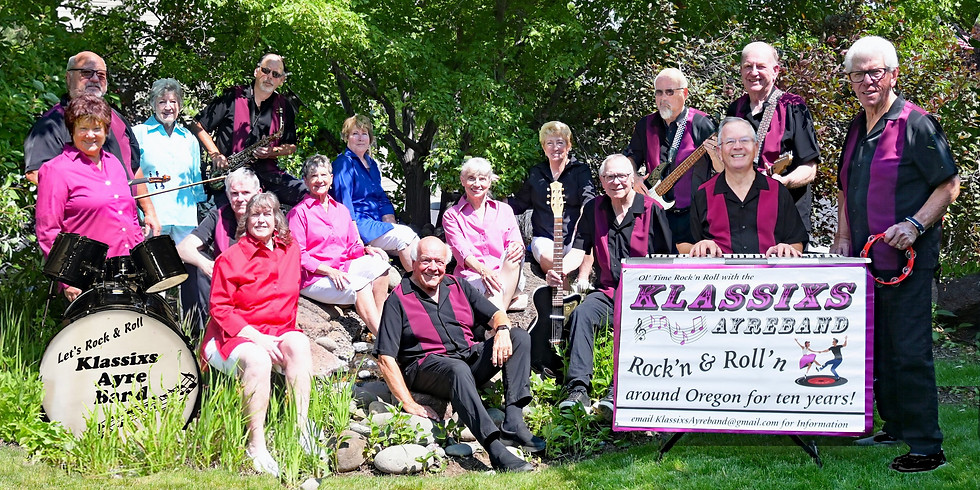 Live at the Vineyard:  The Klassixs Ayreband...Advance Ticket Purchase Required