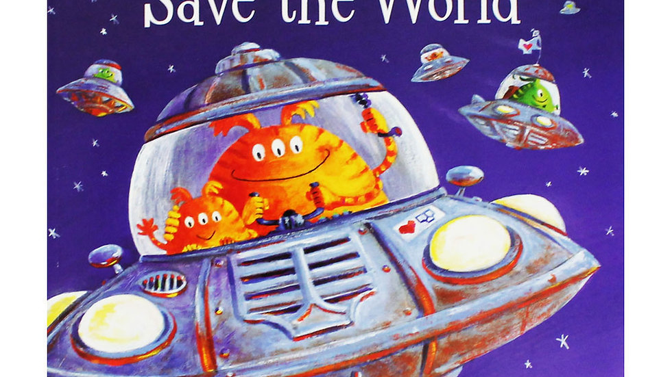 Aliens in Underpants Save the World Activity Pack