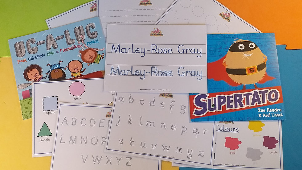 Personalised Early Learning Kit