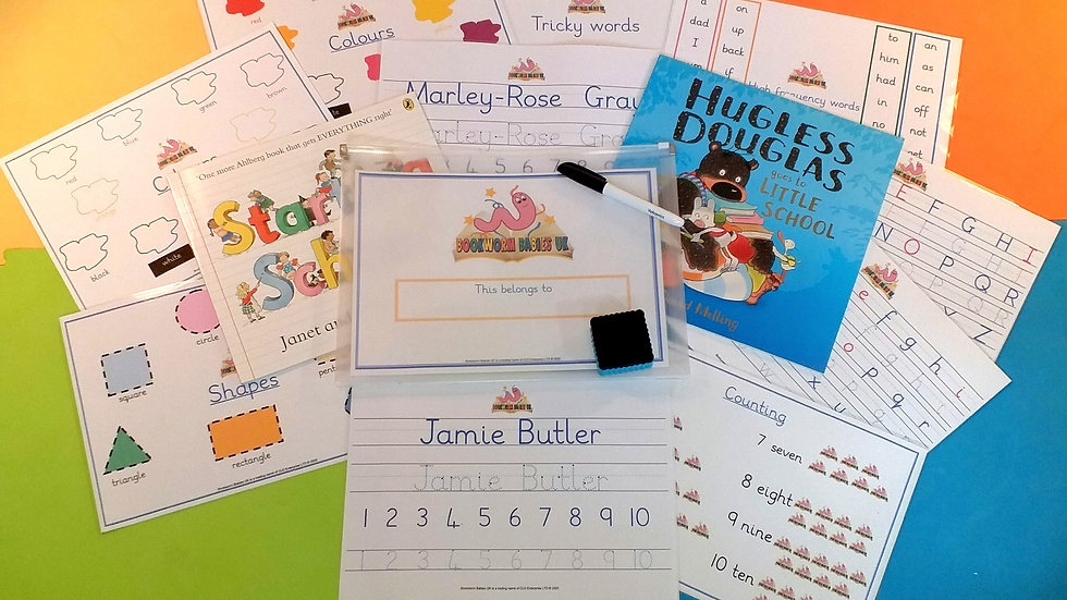 Personalised Reception Ready Kit