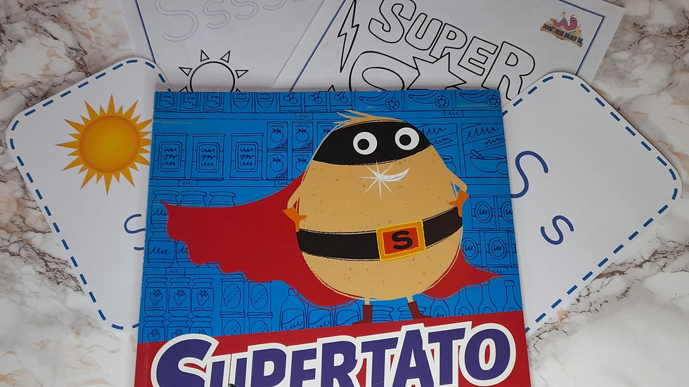 Supertato Activity Pack