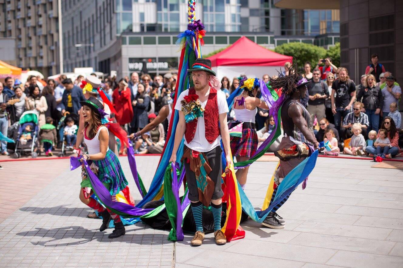 Performing with Folk Dance Remixed